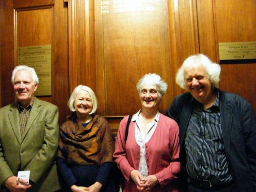 Stewart Conn, Christine De Luca, Valerie Gillies and Ron Butlin - Four Edinburgh Makars